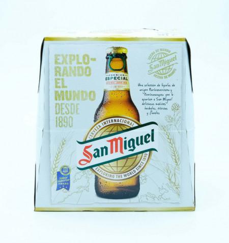 Cerveza san miguel 25 cl pack 6 la tramuntana