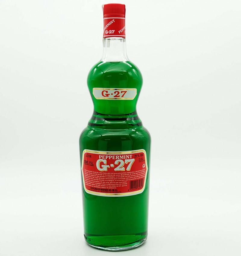 Licor de menta G27 verde salas 150 cl la tramuntana