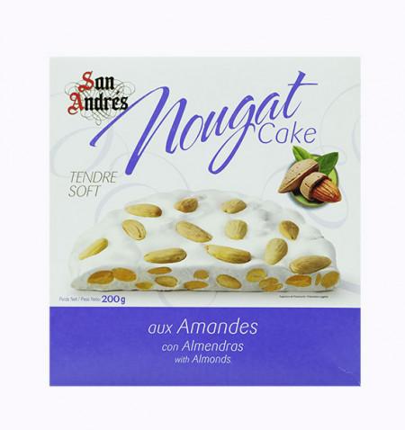 San Andres Torta Nougat Ametlla 200 g la tramuntana