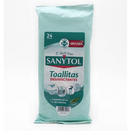 Sanytol Tovalloleta Desinfectant 24 Unitats la tramuntana