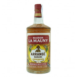La Mauny Rhum Arrange Banana la tramuntana