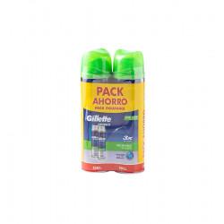 gilette classic escuma pack 2 x 200 ml sensible la tramuntana