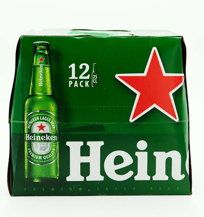 Cerveza heineken 25 cl pack 12 la tramuntana