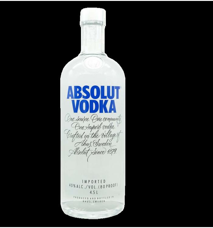 Absolut vodka 450 cl la tramuntana