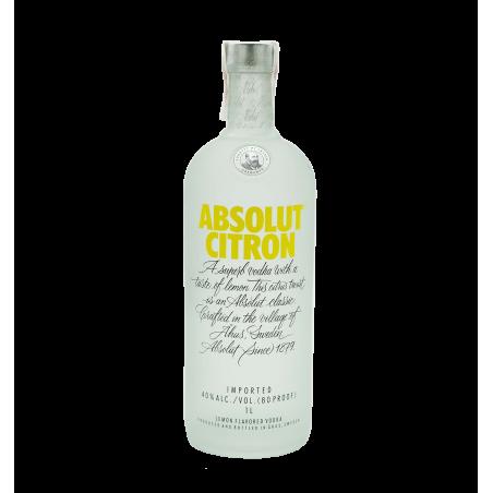 Absolut vodka citron la tramuntana