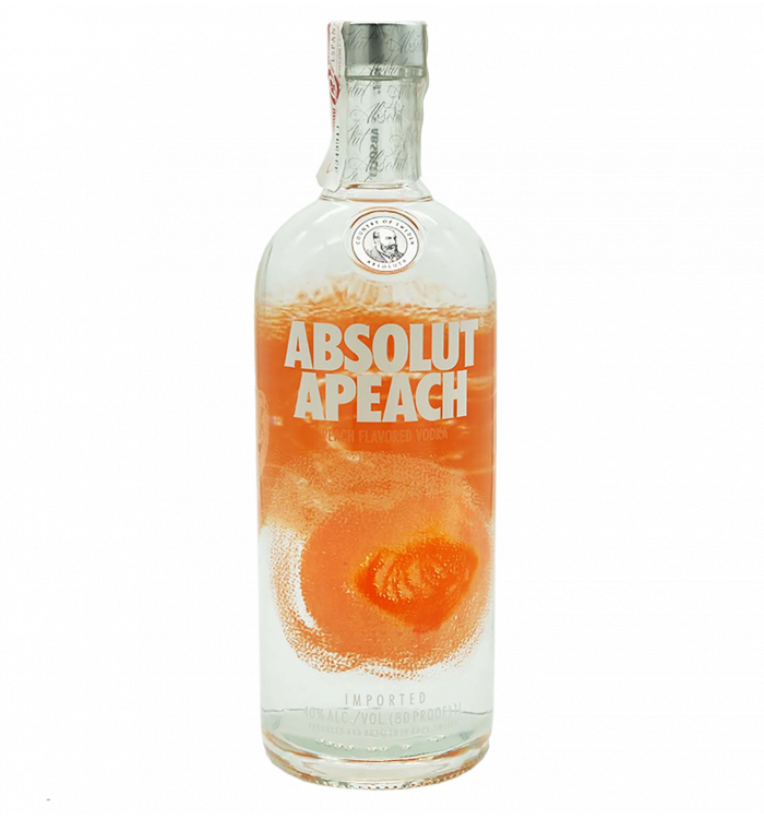 Absolut vodka peach la tramuntana