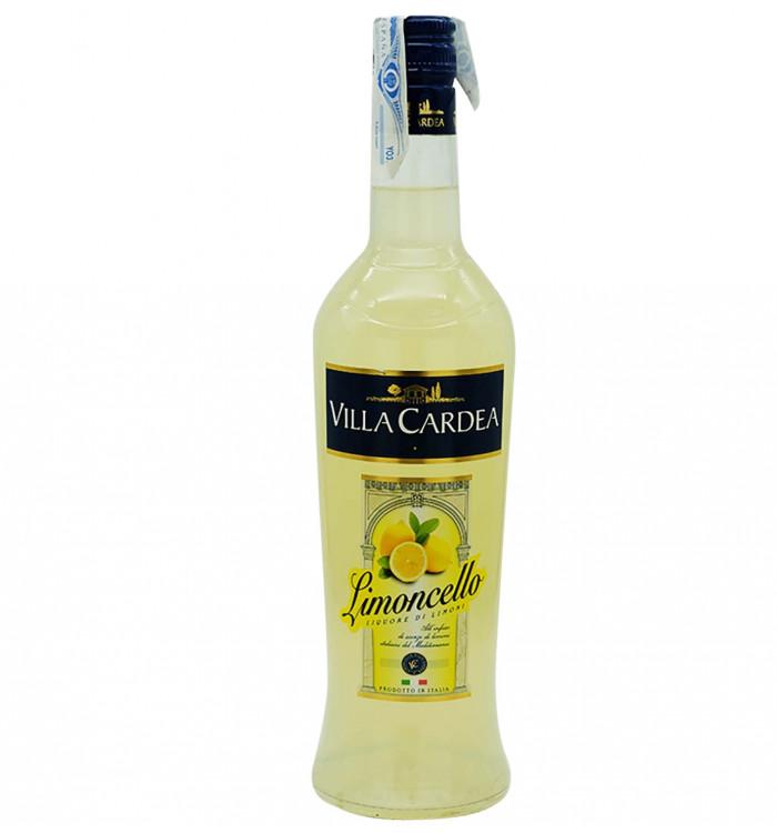 Licor de frutas villa cardea limoncello 70 cl la tramuntana