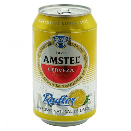 Cerveza amstel radler 33 cl la tramuntana