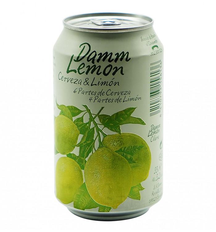 Cerveza damm lemon 33 cl la tramuntana