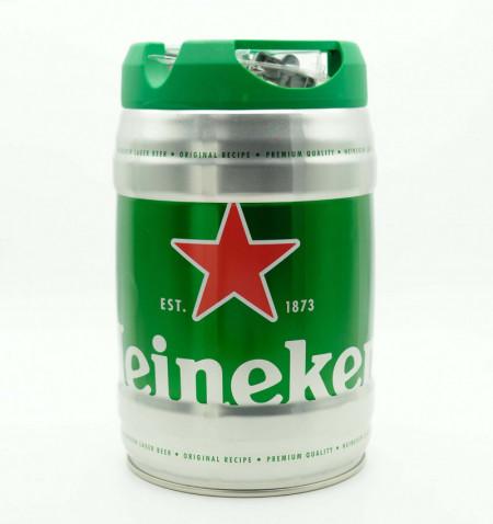 Cerveza heineken barril 5 l la tramuntana