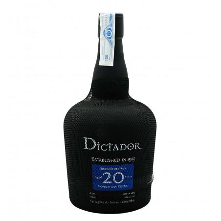 Ron Dictador 20 años la tramuntana