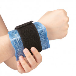 PEARL THERM THERAPEUTIC ADJUSTABLE GEL PEARL BELT FOR WRIST OR ANKLE HOT/COLD Latramuntana