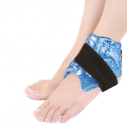 PEARL THERM THERAPEUTIC ADJUSTABLE GEL PEARL BELT TO THE ANKLE HOT/COLD Latramuntana