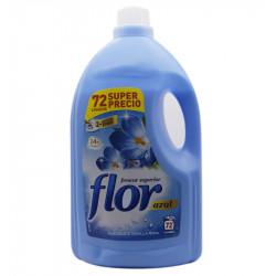 FLOR BLUE FABRIC SOFTENER 72 WASHES 3750 ML Latramuntana