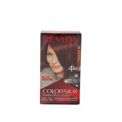 REVLON COLORSILK HAIR DYE 31 DARK AUBURN Latramuntana