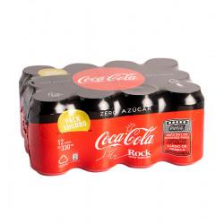COCA-COLA CANETTE 33 CL PACK 12 ZERO% Latramuntana