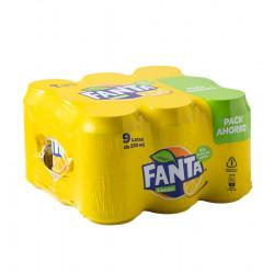 FANTA LEMON 33CL 9-PACK Latramuntana