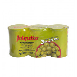 JOLQUITA OLIVES WITH ANCHOVY 3-PACK Latramuntana