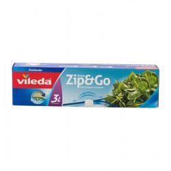 VILEDA ZIP&GO FREEZER BAGS 13 L Latramuntana