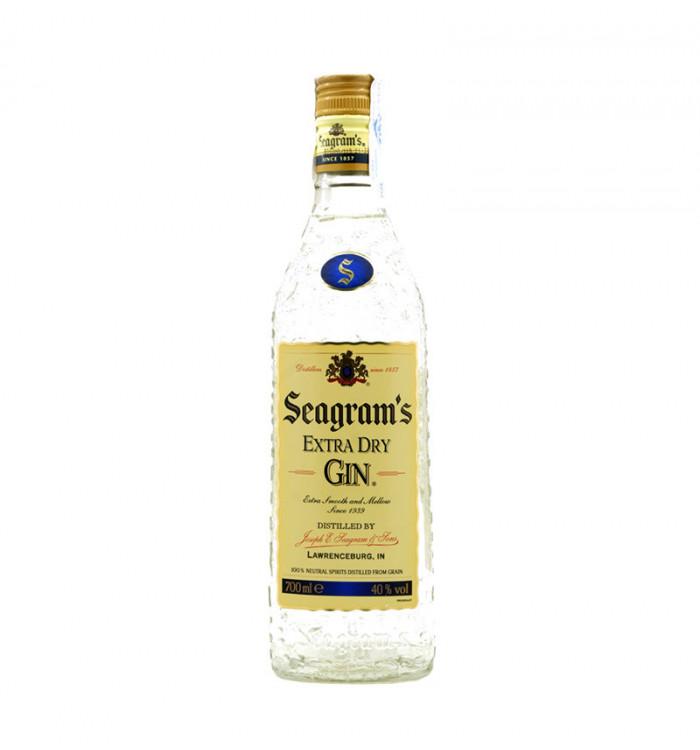 seagram's extra dry gin 70 cl la tramuntana