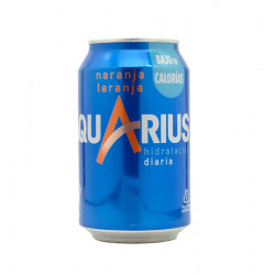 AQUARIUS ORANGE CAN 33 CL Latramuntana
