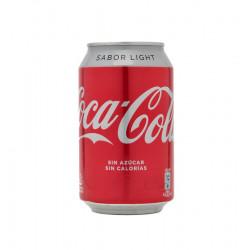 coca cola light llauna 33 cl la tramuntana
