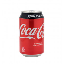 COCA COLA ZERO CAN 33 CL Latramuntana