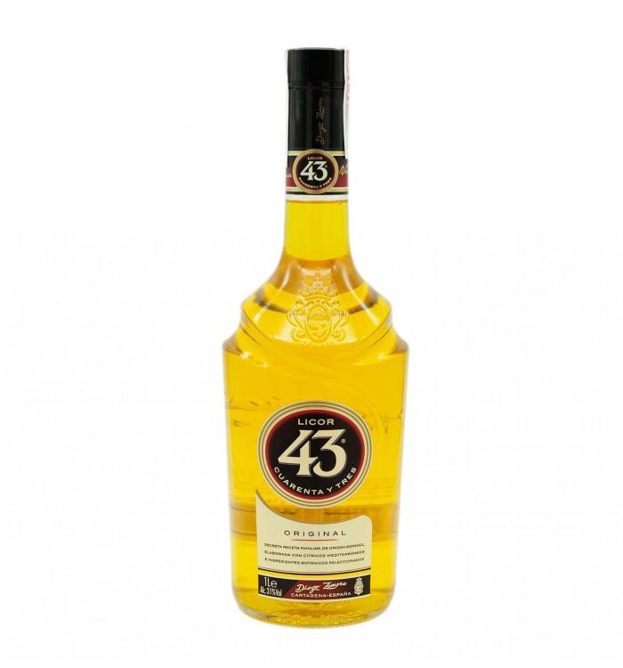 Crema de licor licor 43 1 l la tramuntana