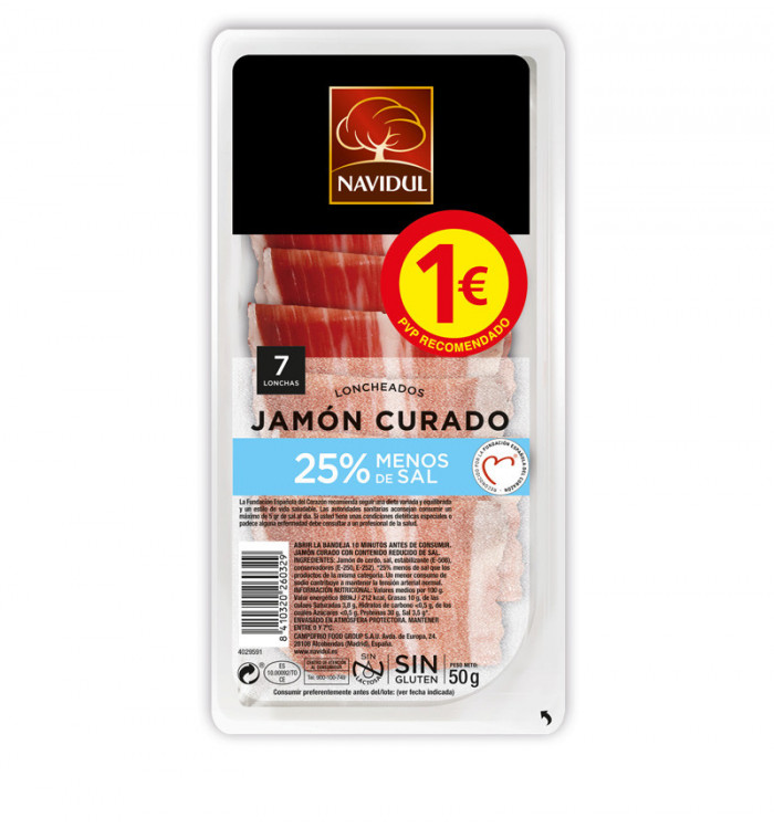 navidul loncheado jamón -25% sal 50 grs lat tramuntana