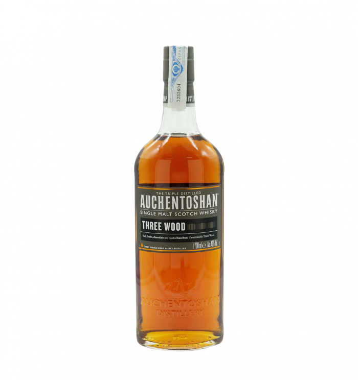 Auchentoshan three wood 70 cl la tramuntana