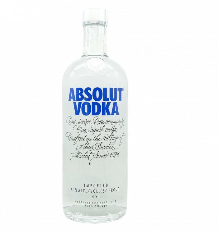 Absolut vodka 450 cl la tramuntana