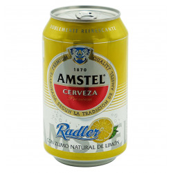 AMSTEL RADLER CANETTE 33 CL Latramuntana