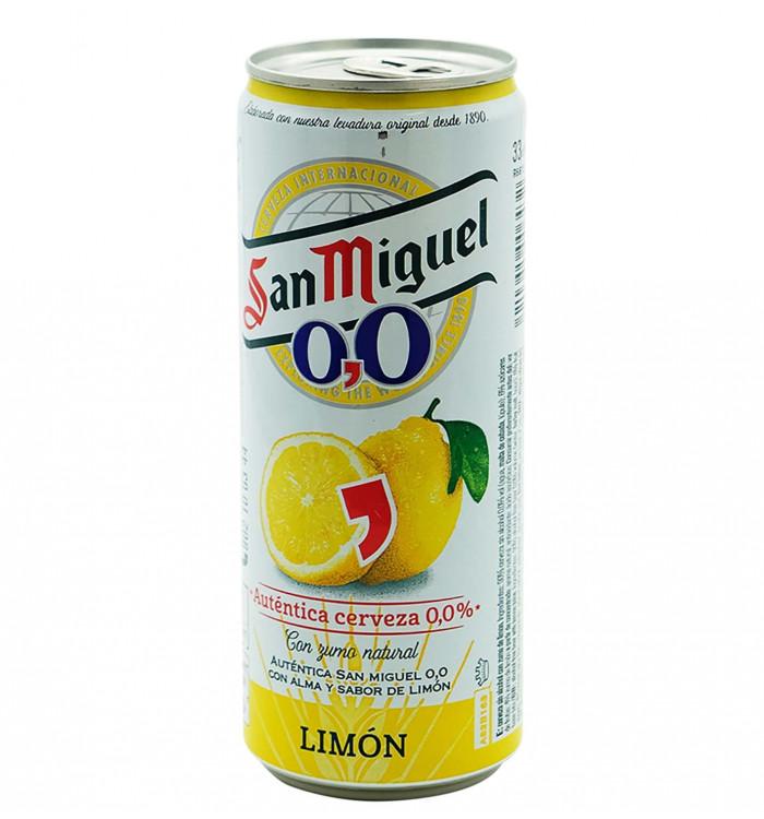 SAN MIGUEL 00 LLIMONA 33CL