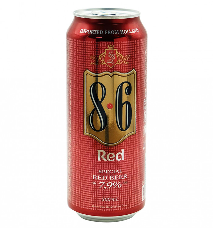 BAVARIA RED 8-6 50 CL