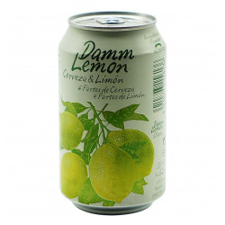 DAMM LEMON CANETTE 33 CL