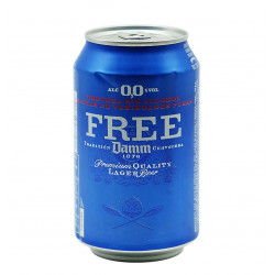 FREE DAMM CAN 33 CL Latramuntana