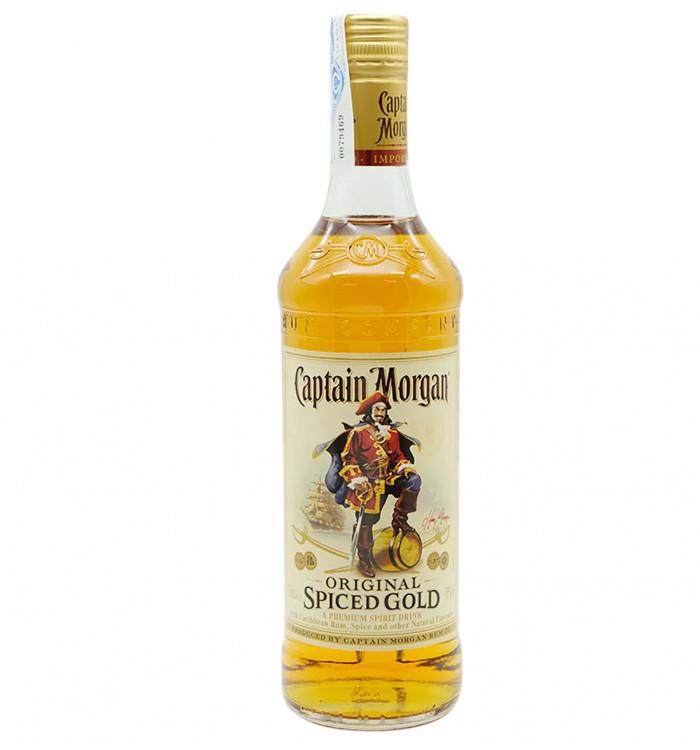 Captain morgan spidec gold 70 cl la tramuntana