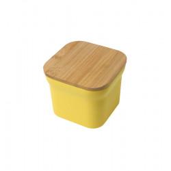 onega recipiente cuadrado con tapa de bambu la tramuntana