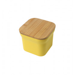ONEGA SQUARE CANISTER WITH BAMBOO LID Latramuntana